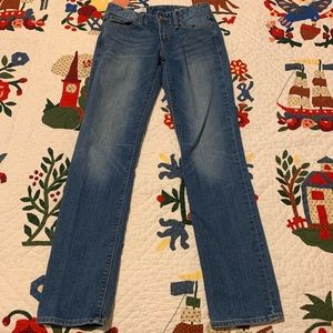GAP real Straight 25R jeans